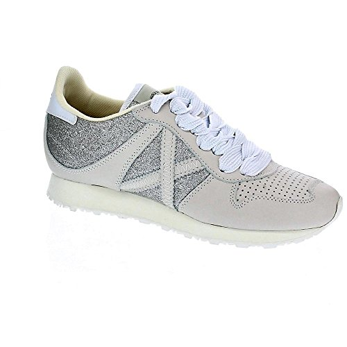 Munich Sneakers Massana 262 Beige-Argento Glitter 8620262