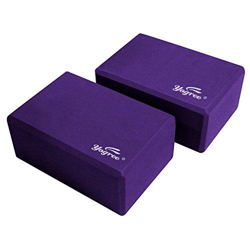 """Yoga Block Density: Yogree Yoga Blocks, 9""""x6""""x4"""""""