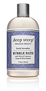 UNKNOWN Deep steep bubble bath fresh lavender 17 fl oz 503 ml