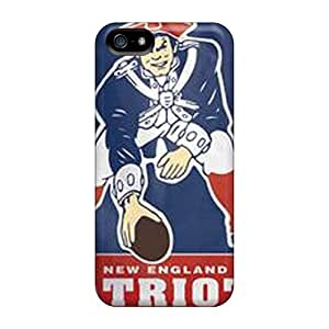 Defender Cases With Nice Appearance (new England Patriots) For Iphone 5/5s