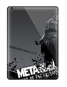 High-end Cases Covers Protector For Ipad Air(bubble Metal Gear)