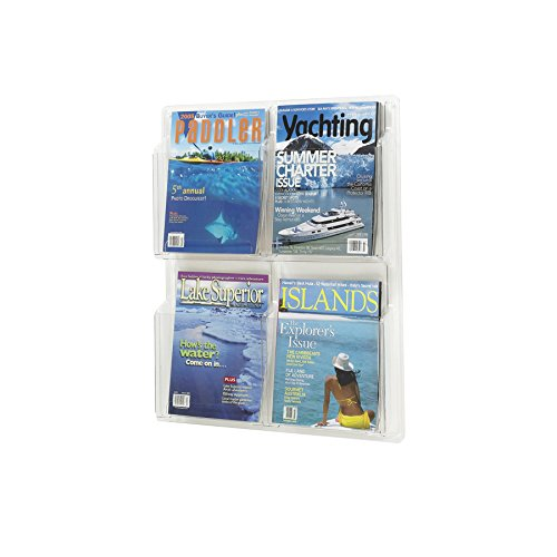 Reveal™ 4 Magazine Display Clear