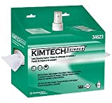 KCC34623 - Kimtech Science Lens Cleaning Station, Pop-up Box, White, 4/case