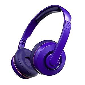 Skullcandy Cassette Wireless On-Ear Headphone with Mic (Retro/Surf/Purple)