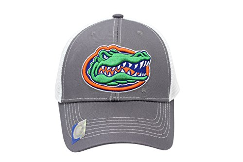 - Collegiate Headwear Men's Florida Gators Embroidered Grey Ghost Mesh Back Cap