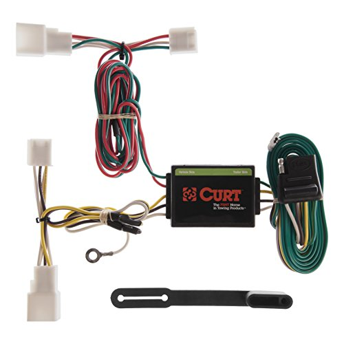CURT 55308 Vehicle-Side Custom 4-Pin Trailer Wiring Harness for Select Toyota Camry