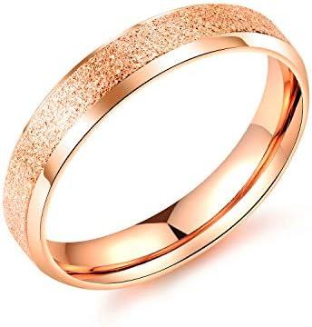 AIKS 人気 ブランド 指輪 レディース 18K ステンレス 女 平打ち エンゲージリング 16号 カジュアル 誕生日 ギフト