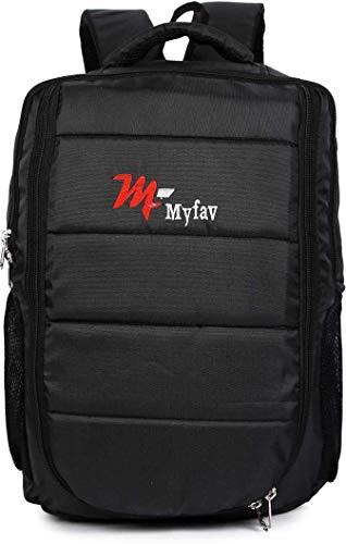 MY FAV Laptop Bagpack for Boys Girls Office Backpack for Men Women 40 L Laptop Backpack (Black)