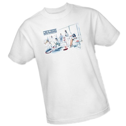 Dominos -- Law & Order Special Victims Unit Adult T-Shirt, XXX-Large