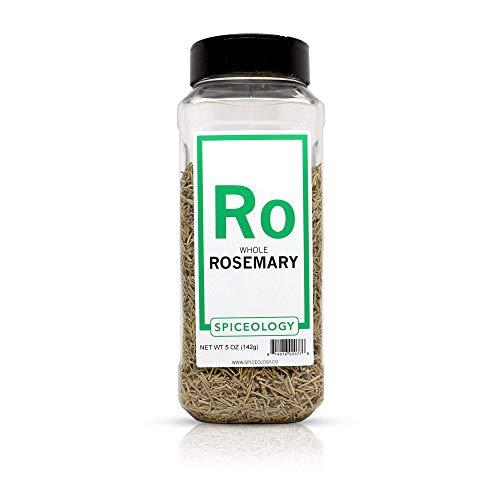 Rosemary Leaves - Spiceology Dried Whole Rosemary - 5 ounces
