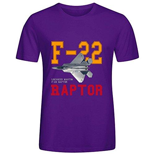 meganho-design-lockheed-martin-f-22-raptor-man-t-shirts-cotton-round-collar-purple