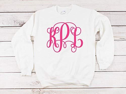 Monogrammed Sweatshirt for Women