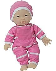 The New York Doll Collection 11 inch / 28 cm pop met zacht lichaam in geschenkdoos (Aziatisch)