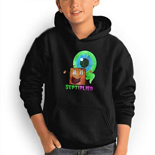 (Don Washington Septiplier Youth Hoodies Fashion Sweatshirts Pullover Black)