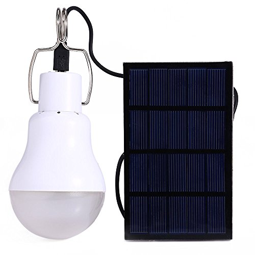 QZZY-Useful Energy Conservation S-1200 15W 130LM Portable Led Bulb Light Charged Solar Energy Lamp Home Outdoor Lighting