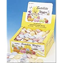Satellite Wafers Flying Saucers Candy Old Fashioned 240 by GERRIT'S [Foods]