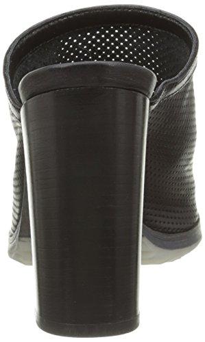 Manas 161m4504ssf - Sandalias de Vestir Mujer Negro