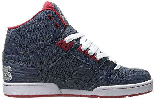 Osiris NYC 83 Blue/Red/Silve Azul
