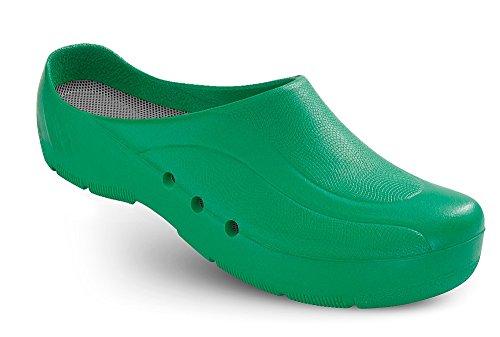 au oP talon niveau Vert sans et unisexe chaussures oRTHOClogs Schürr avec du Z05wSqZ