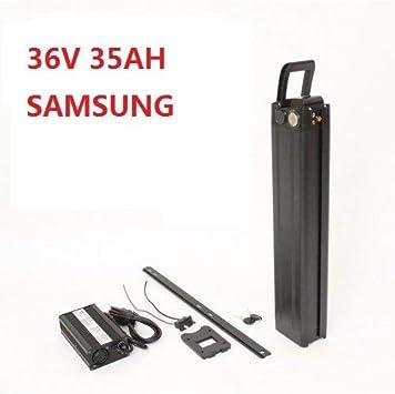 HYLH 36V 35 AH Batería 18650 Samsung Cell Seat Tube Batería de ...