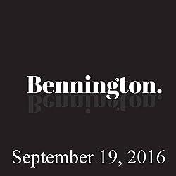 Bennington, September 19, 2016