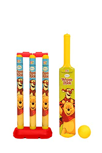 Disney Winnie The Pooh Cricket Set, Yellow (Small Size)
