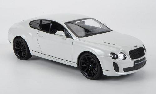 Modellauto Welly 1:24 Bentley Continental Supersports weiss Fertigmodell