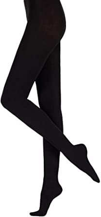NEW ELLEN TRACY Women/'s soft /& cozy Black Fleeced footed Tights,size S//M,M//L,XL