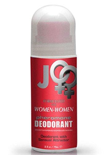 Système JO phéromone sensuelle Roll sur déodorant pour les femmes (femme attirer les femmes) taille 2.5 Oz.