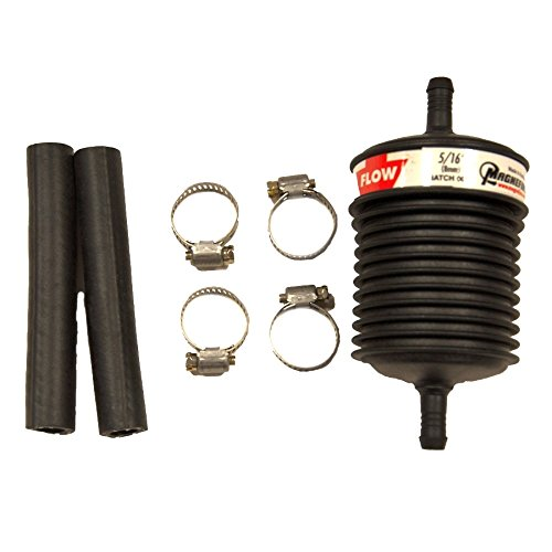 ATP JX-150 Universal Plastic Body In-Line Filter for 5/16'' Barb Flare by ATP Automotive