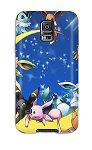 New Design Shatterproof CwjHBAK11582RORrF Case For Galaxy S5 (pokemon)