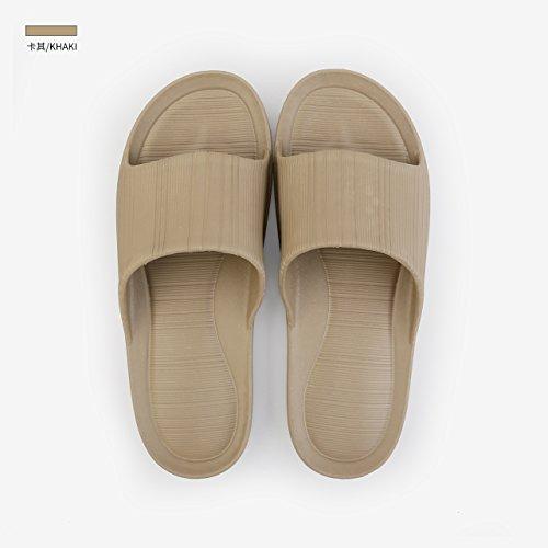 de douche et bain d'été pointure pantoufles anti Pantoufles 43 44 fond marée dérapant pantoufles couple Été CWJDTXD 42 hommes ultra et poids sandales salle léger silencieuses doux femmes recommandé HTz8q5xSwv