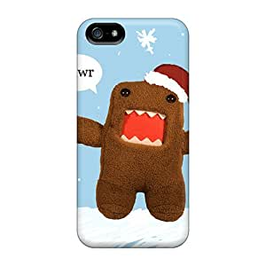Durable Cases For The Iphone 5/5s- Eco-friendly Retail Packaging(domo Kun)