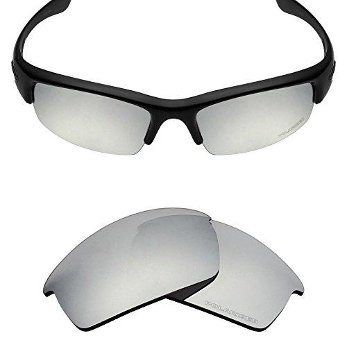 Mryok+ Polarized Replacement Lenses for Oakley Bottlecap - Silver Titanium by Mryok