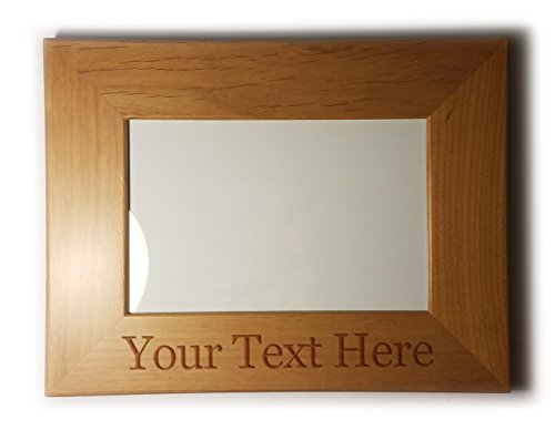 Customized 3D Laser Engraved Personalized Wooden Custom Picture Frame - Frames Custom Canada