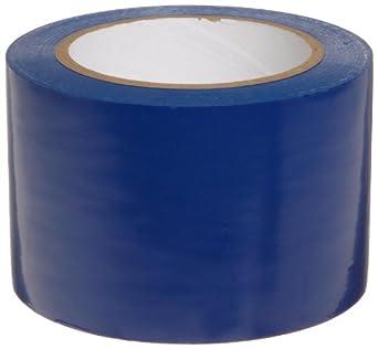 "Brady 108' Length, 3"" Width, B-725 Vinyl Tape, Blue Color Aisle Marking Tape"