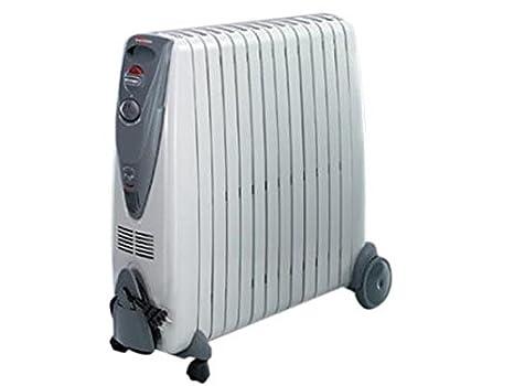 DELONGHI KG011225R - Radiador de Aceite rápido de 2500 W, Color Gris (Reacondicionado Certificado