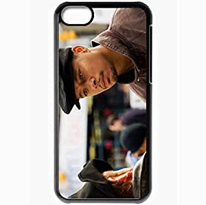 Personalized iPhone 5C Cell phone Case/Cover Skin August Rush Terrence Howard Richard Jeffries face Movies Black
