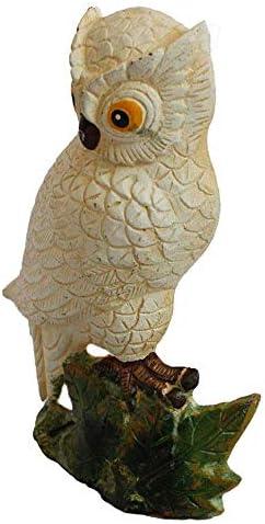 ドアウェッジホーム絶妙な鉄の装飾金属防風ドアプラグフクロウドアストップ(色:カラフル、サイズ:14.9x8.1x20.1cm)