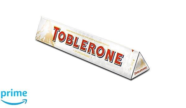 Toblerone Barra de chocolate blanco, grande, 360 g