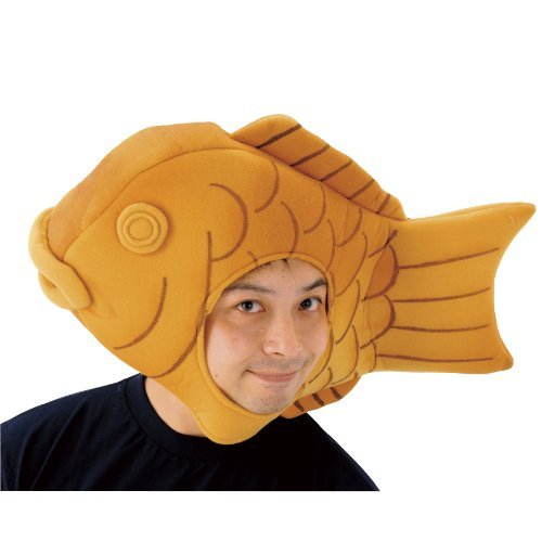Japanese Anime Taiyaki Cap Costumes Cosplay Party Goods (Japan Import)]()