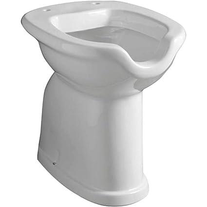Sanitari In Ceramica Per Bagno.Sanitari Bagno Ceramica Vaso Disabili Muro Amazon It Fai Da Te