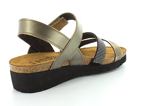 Metal Leather Footwear Naot Krista Pewter Women's A6IAcWg
