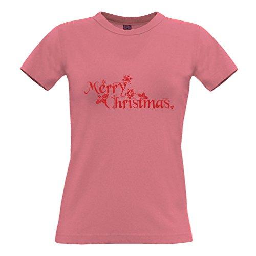 Tim And Ted Natale T-Shirt Da Donna Buon Natale Presente festivo stampato Slogan design