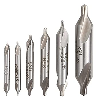 Center Drill 4 60 Degree High Speed Steel M2 Combined Drill /& Countersink