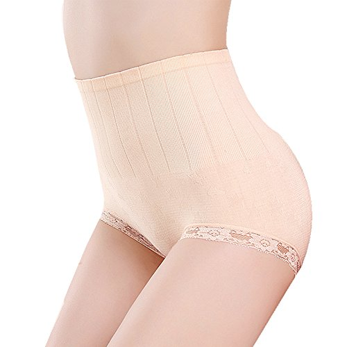 UPC 712243819676, Shangmu Women's Hi-Waist Shapewear Seamless Anti Bacterial Shaper Panty (light beige)