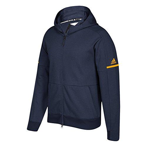 Adidas Juego Built Squad Id Full Zip Hoodie Colegiado Navy-collegiate Gold