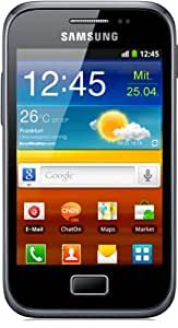 Samsung Galaxy Ace Plus S7500 Quad-band GSM Cell Phone - Unlocked