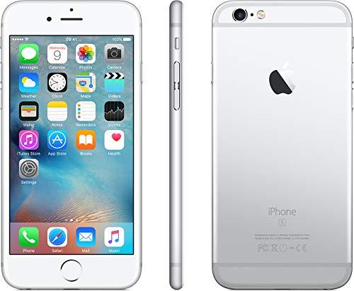Apple iPhone 6s, Boost Mobile, 64GB - Silver (Renewed)