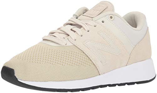 New Balance Women's 24v1 Sneaker, Tan/White